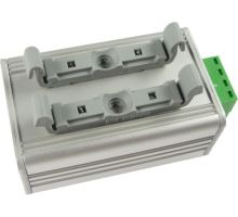 DIN rail mount for TH2E, THT2, Gnome422, DCF Simulator