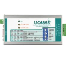 UC485S: RS232 to RS485/RS422 line converter - plug terminals