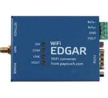 EDGAR WiFi: WiFi to RS232 or RS485 converter