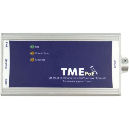 TME PoE - PoE powered ethernet thermometer