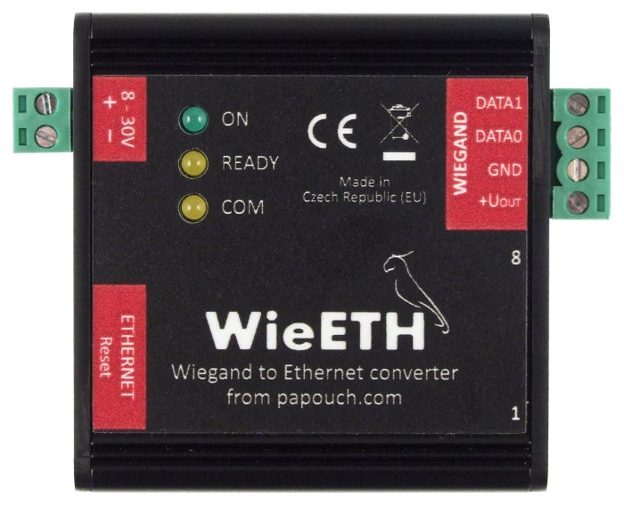 Wie485: Wiegand converter to RS485 | Papouch.com