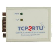 TCP2RTU: MODBUS TCP to RTU/ASCII Converter