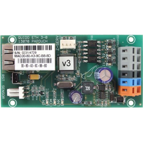 Quido ETH 3/0: 3x digital inputs,  1x temperature input, Ethernet interface