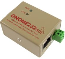 GNOME232: Ethernet to RS232 converter