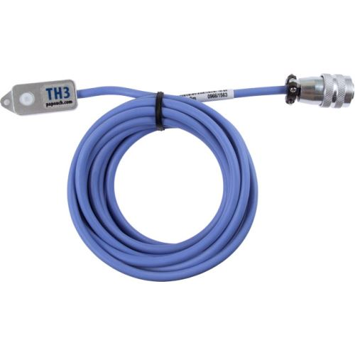TH3: Temperature and humidity sensor, silicone cable (illustration length)