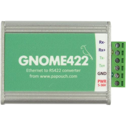 GNOME422 - Ethernet to RS422 converter