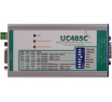UC485: RS232 to RS485/RS422 line converter - plug terminals